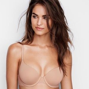 NWOT Victoria's Secret T-Shirt Lined Nude Bra 34D